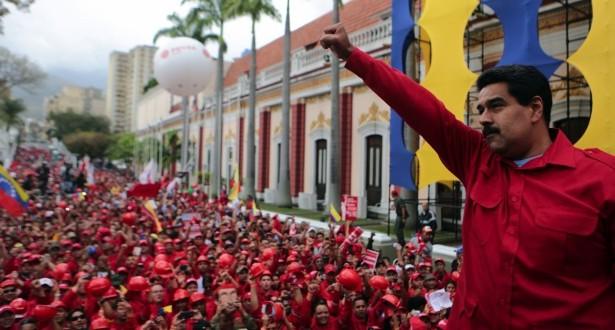الى التضامن الكامل مع جمهورية فنزويلا البوليفارية