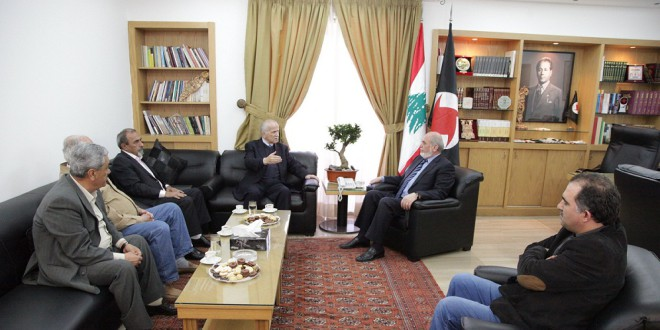 لقاء بين الحزب السوري القومي الاجتماعي والحزب الديمقراطي الشعبي